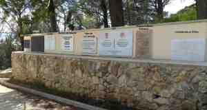 Memoriales republicanos en Pandols (Tarragona) (foto de origen desconocido)